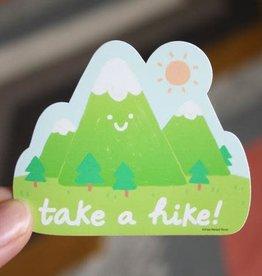 Free Period Press Take A Hike Sticker