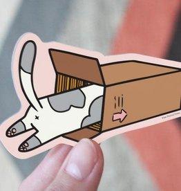 Free Period Press Cat Box Sticker