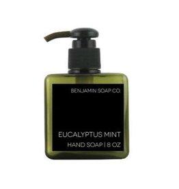 Benjamin Soap Company Foaming Hand Soap, Eucalyptus/Mint