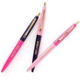 Snow & Graham Motivational Pen Set