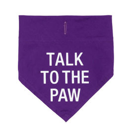 About Face Talk to the Paw Bandana, S/M