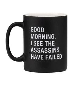 About Face Assassins Have Failed Mug