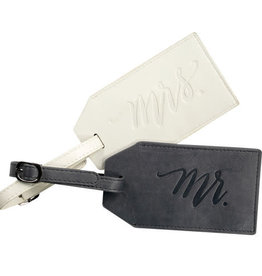 About Face Mr. & Mrs. Luggage Tag Set