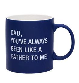 About Face Like a Father Mug