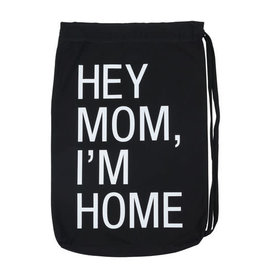 About Face I'm Home Laundry Bag