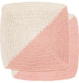 Now Designs Crochet Angle Peony Dish Cloths