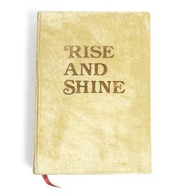 Printfresh Rise and Shine Journal, Gold