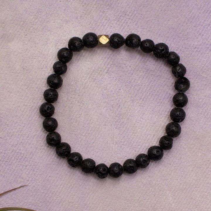 Amy Margaret Lava Diffuser Bracelet, 6mm