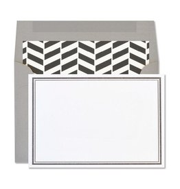Page Stationery Double Black Note Set