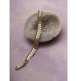 Amy Margaret Harper Chevron Chain Bracelet, Gold