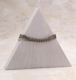 Amy Margaret Harper Chevron Chain Bracelet, Silver