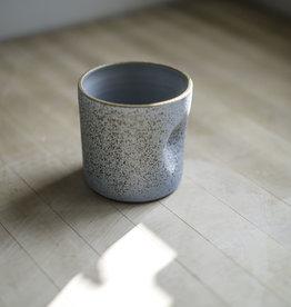 Maek Ceramics Thumb Cup, Bluestone
