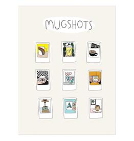 Humdrum Paper Mug Shots Print, 12x16