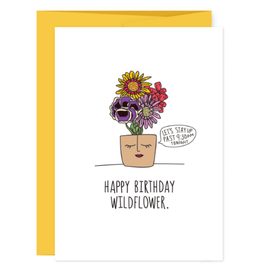 Humdrum Paper Birthday Wildflower