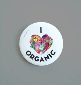 Seattle Seed Co. I Love Organic Pin