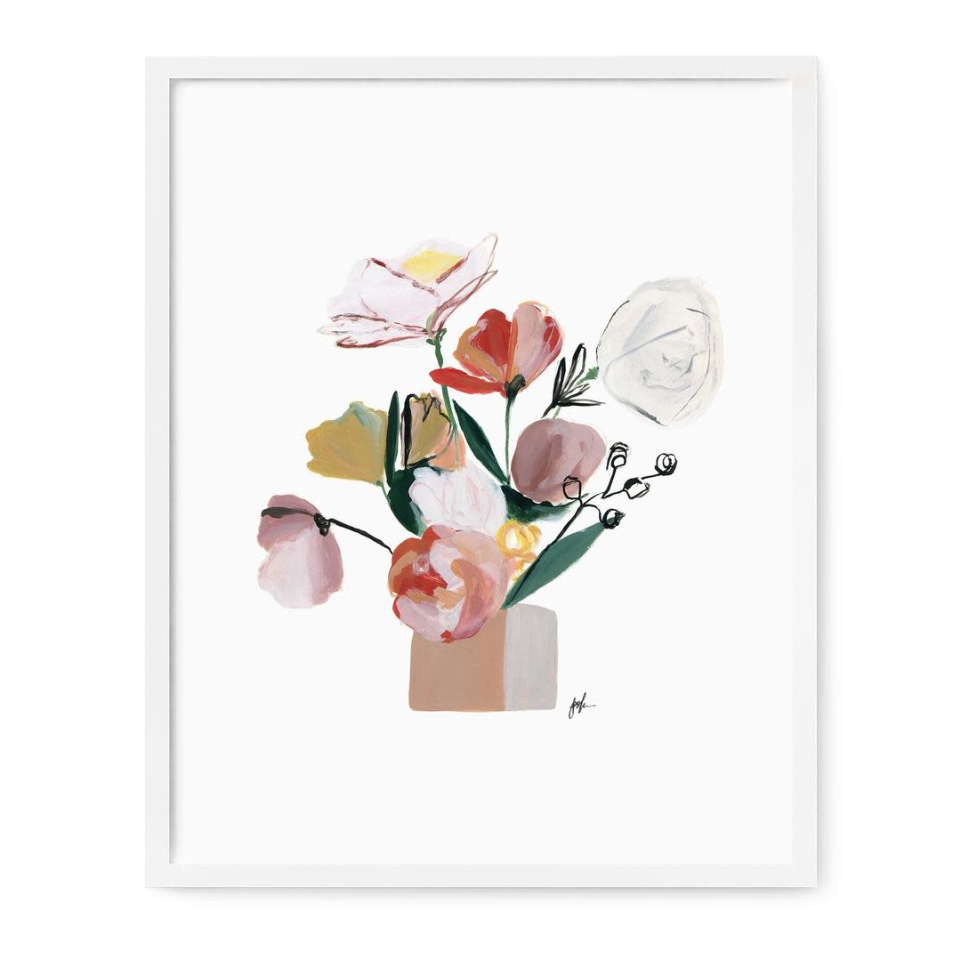 Our Heiday Bouquet III Print, 8x10
