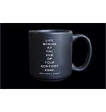 Quotable Comfort Zone Espresso Mug