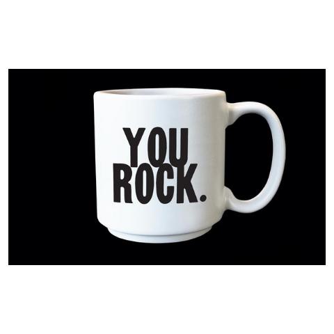 Quotable You Rock Espresso Mug