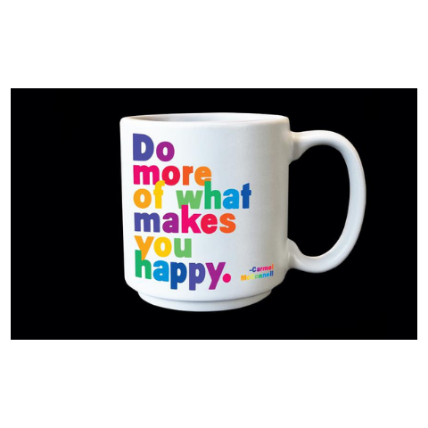 Quotable Makes You Happy Espresso Mug