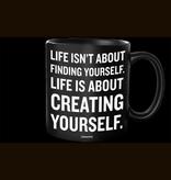 Quotable Creating Yourself Mug