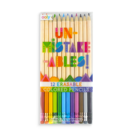 Ooly Un-Mistake-Ables Erasable Colored Pencils