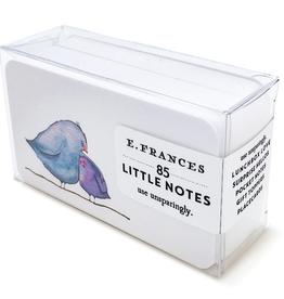 E. Frances Little Notes: Birdie Love