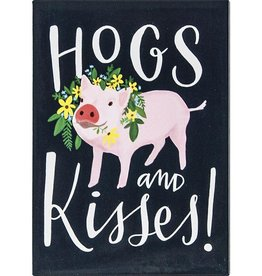 Emily McDowell Hogs & Kisses Magnet