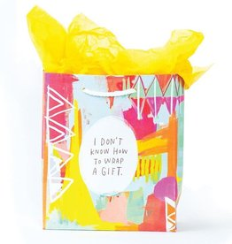 Emily McDowell Don't Know How To Wrap Gift Bag