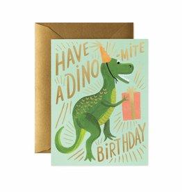 Rifle Paper Dino-mite Birthday Card