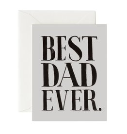 Rifle Paper Best Dad Ever Card