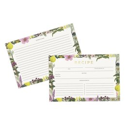 Rifle Paper Herb Garden Recipe Cards