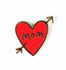 Penny Paper Co. Mom Tattoo Enamel Pin