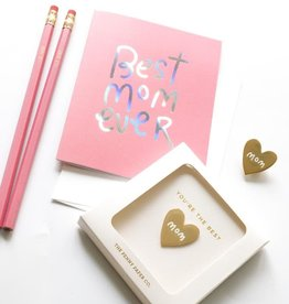 Penny Paper Co. You're The Best Mom Pin Gift Set