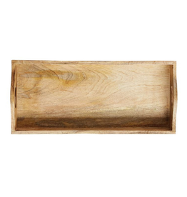 Creative Co-op Mango Wood Tray, Lg