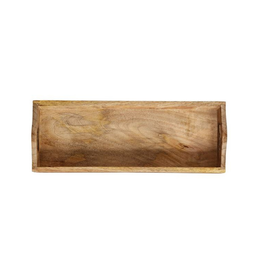 Creative Co-op Mango Wood Tray, Sm