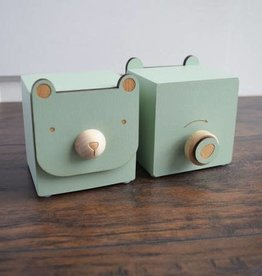 Tree Bear Music Box