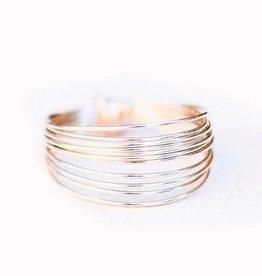 Go Rings Go Ring, Silver - 6