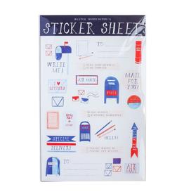 Mr. Boddington's Studio Post Office Sticker Sheet