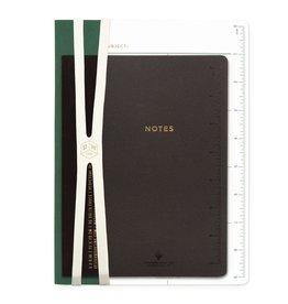 Design Works Emerald/Black Ruler Pack