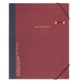 Design Works Burgundy Portfolio