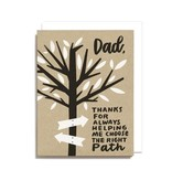 Worthwhile Paper Dad Right Path Card