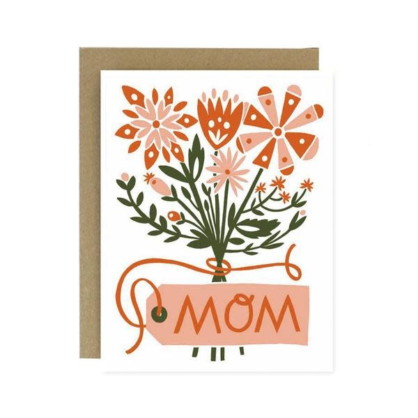 Worthwhile Paper Mom Bouquet Card