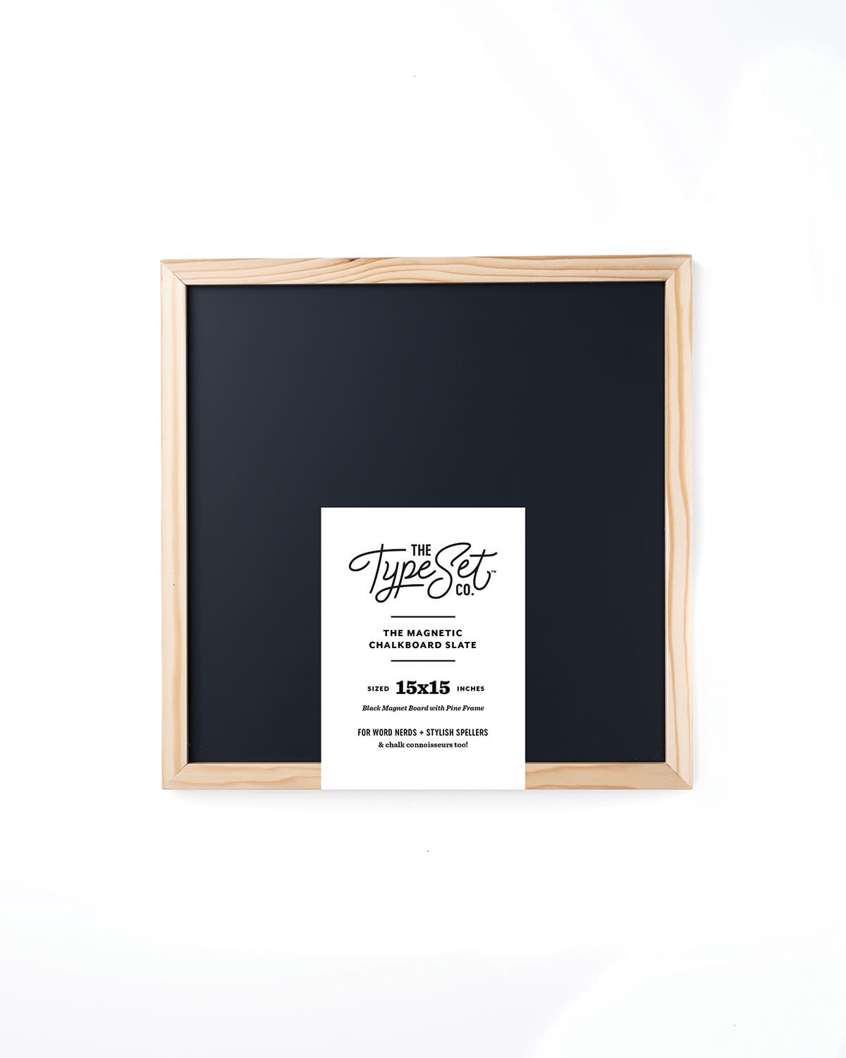 The Type Set Co. Magnetic Letter Board - Black