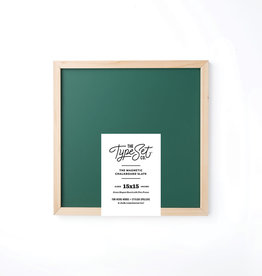 The Type Set Co. Magnetic Letter Board - Green