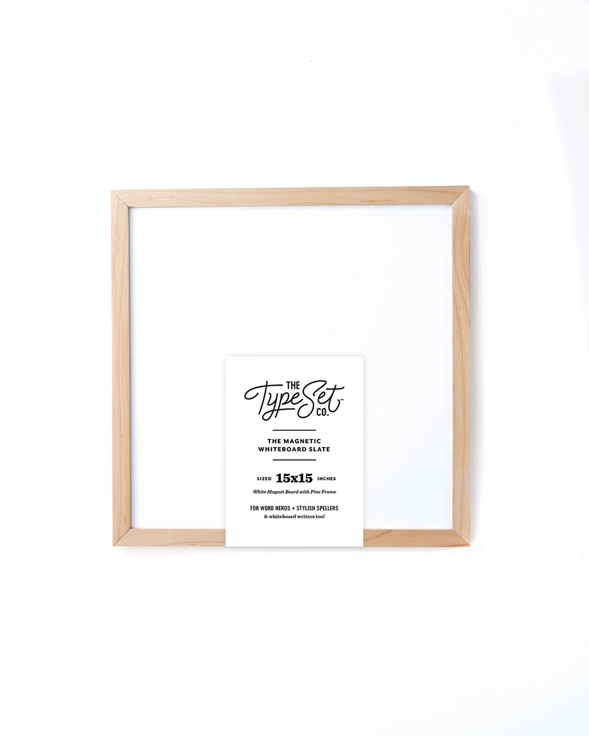 The Type Set Co. Magnetic Letter Board - White