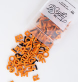 The Type Set Co. Magnetic Letters - Orange Cream