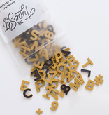 The Type Set Co. Magnetic Letters - Wild Honey