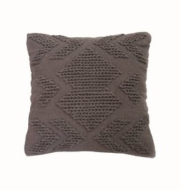 Foreside Nia Pillow, Gray