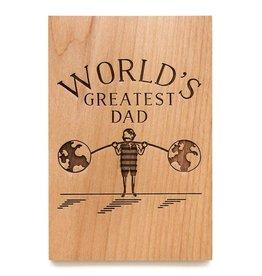 Cardtorial World's Greatest Dad Strongman