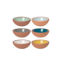 Now Designs Terracotta Pinch Bowl, Set/6